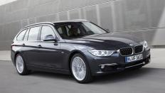 Фото экстерьера BMW 3-series (БМВ 3 серии Туринг) Универсал / 320i xDrive<br><span> 2.0 / 184&nbsp;л.с. / Механика&nbsp;(6&nbsp;ст.) / Полный привод</span>