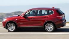 Фото экстерьера BMW X3 (БМВ Х3) / xDrive xLine Локальная сборка<br><span> 2.0 / 190&nbsp;л.с. / Автомат&nbsp;(8&nbsp;ст.) / Полный привод</span>