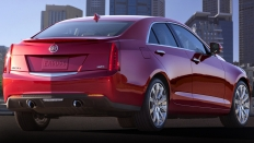 Фото экстерьера Cadillac ATS (Кадиллак АТС) / 2.0T RWD, AT, Luxury<br><span> 2.0 / 276&nbsp;л.с. / Автомат&nbsp;(6&nbsp;ст.) / Задний привод</span>