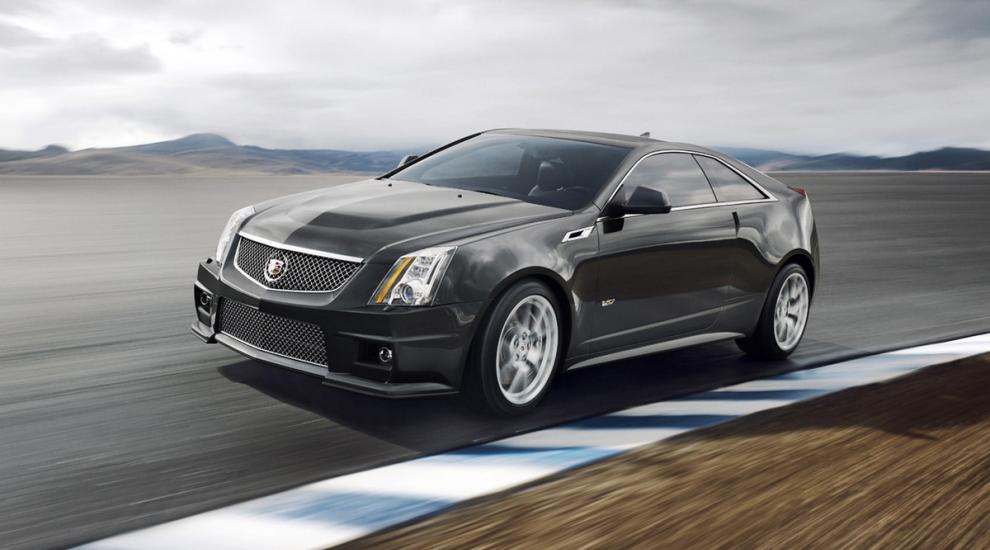 Фото экстерьера Cadillac CTS-V  купе