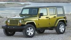 Фото экстерьера Jeep Wrangler