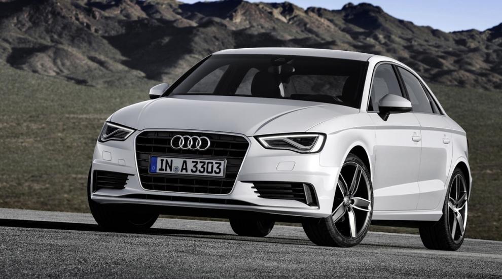 Фото экстерьера Audi A3 седан