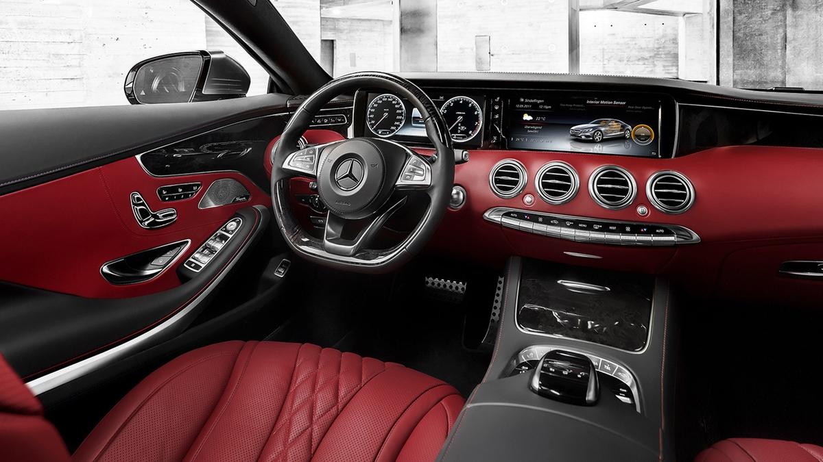 Mercedes benz s class 2013 interior