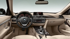 Фото салона BMW 3-series (БМВ 3 серии ГТ) Хэтчбек / 320i<br><span> 2.0 / 184&nbsp;л.с. / Автомат&nbsp;(8&nbsp;ст.) / Задний привод</span>