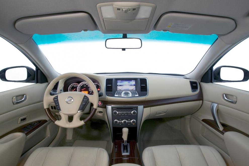 Салон Nissan Teana 2008-2014 (Ниссан Теана 2008-2014) седан