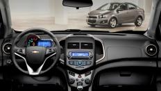 Фото салона Chevrolet Aveo (Шевроле Авео) Седан / LTZ<br><span> 1.6 / 115л.с. / Механика(5ст.) / Передний привод</span>