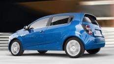 Фото экстерьера Chevrolet Aveo (Шевроле Авео) Хэтчбек / LTZ<br><span> 1.6 / 115л.с. / Автомат(6ст.) / Передний привод</span>