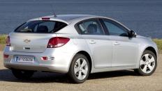 Фото экстерьера Chevrolet Cruze хэтчбек / бензиновый / 1.6л. / 109л.с.