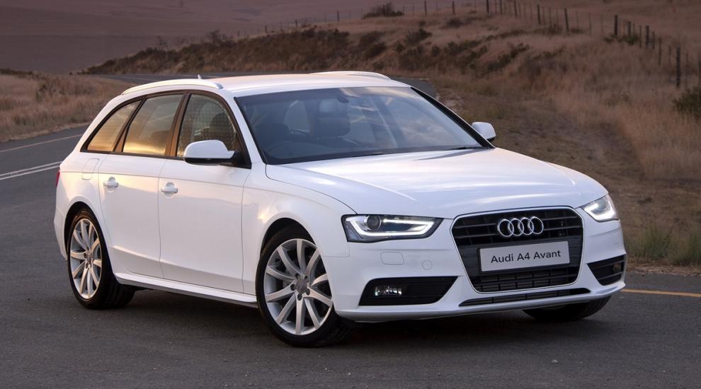 Фото экстерьера Audi A4 универсал