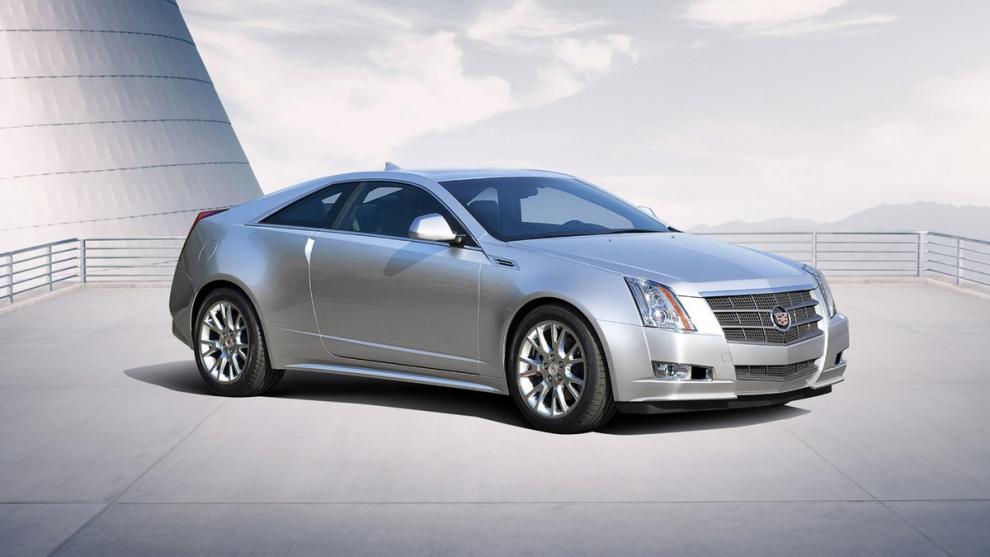 Фото Cadillac CTS купе