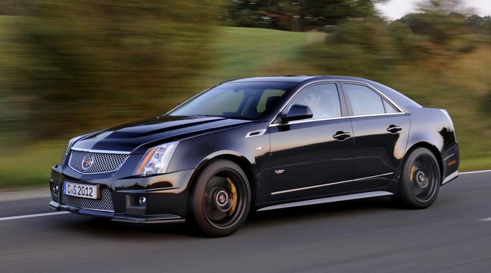 Фото экстерьера Cadillac CTS-V  седан