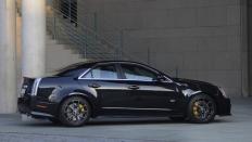 Фото экстерьера Cadillac CTS-V  (Кадиллак СТС-В) Седан / RWD<br><span> 6.2 / 564л.с. / Механика(6ст.) / Задний привод</span>
