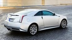 Фото экстерьера Cadillac CTS-V  (Кадиллак СТС-В Купе) Купе / RWD<br><span> 6.2 / 564л.с. / Механика(6ст.) / Задний привод</span>