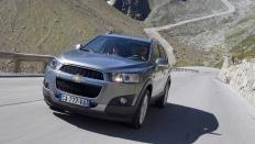 Фото экстерьера Chevrolet Captiva (Шевроле Каптива) / LT<br><span> 2.4 / 167л.с. / Механика(6ст.) / Полный привод</span>
