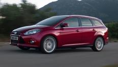 Фото экстерьера Ford Focus (Форд Фокус) Универсал / SYNC Edition<br><span> 1.6 / 125л.с. / Автомат(6ст.) / Передний привод</span>