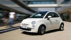 Фото экстерьера Fiat 500 (Фиат 500) / Lounge<br><span> 1.4 / 100л.с. / Механика(6ст.) / Передний привод</span>
