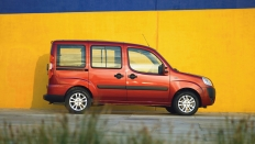 Фото экстерьера Fiat Doblo Panorama (Фиат Добло Панорама) / Active+<br><span> 1.4 / 77л.с. / Механика(5ст.) / Передний привод</span>