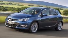 Фото экстерьера Opel Astra