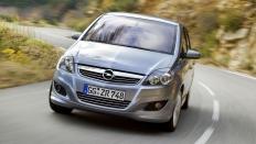 Фото экстерьера Opel Zafira Family