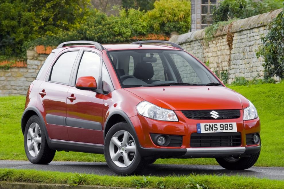 Suzuki SX4 2006 кроссовер