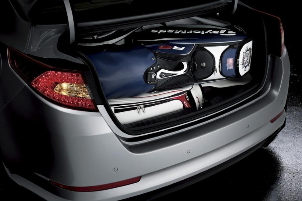 Багажник KIA Optima 2013 седан