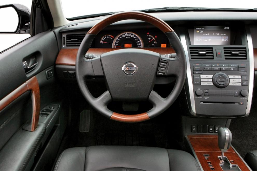 Салон Nissan Teana J31 седан