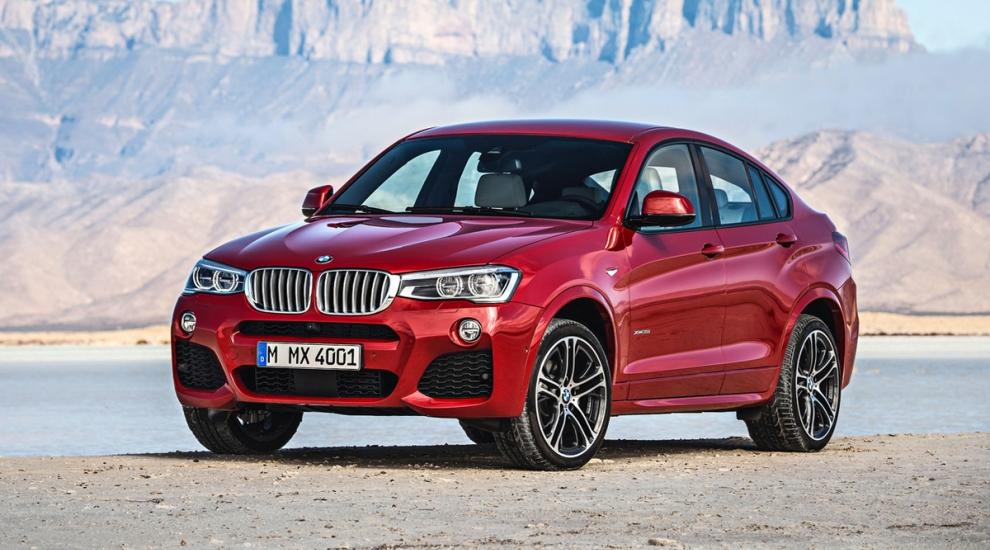 Фото экстерьера BMW X4