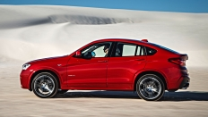 Фото экстерьера BMW X4 (БМВ Х4) / xDrive Exclusive Локальная сборка<br><span> 2.0 / 245л.с. / Автомат(8ст.) / Полный привод</span>