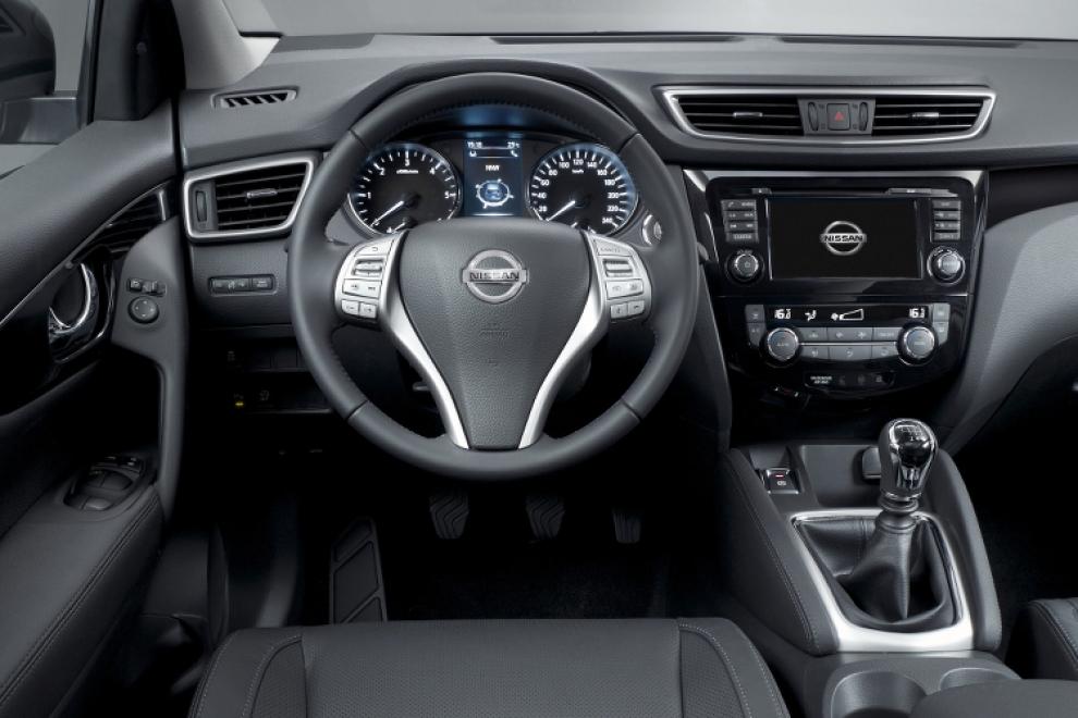 Салон Новый Nissan Qashqai 2014 (Ниссан Кашкай 2014) кроссовер