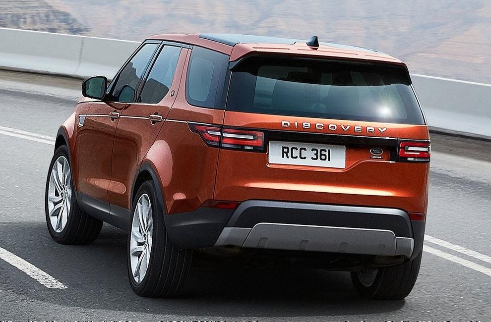 Land Rover Discovery 2017 внедорожник