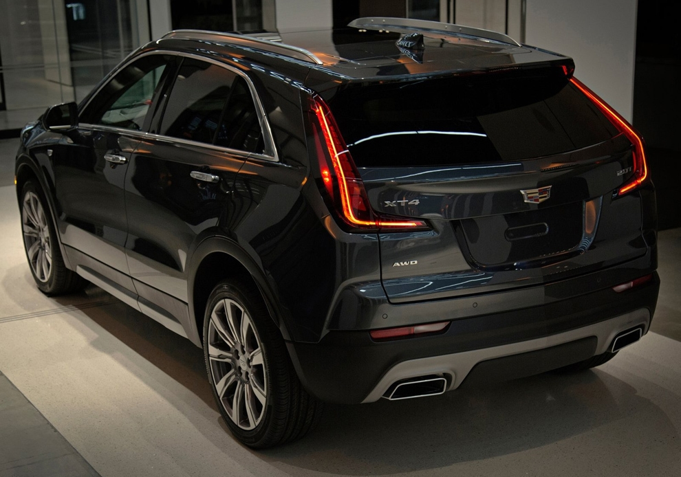 Cadillac XT4. Внешний вид