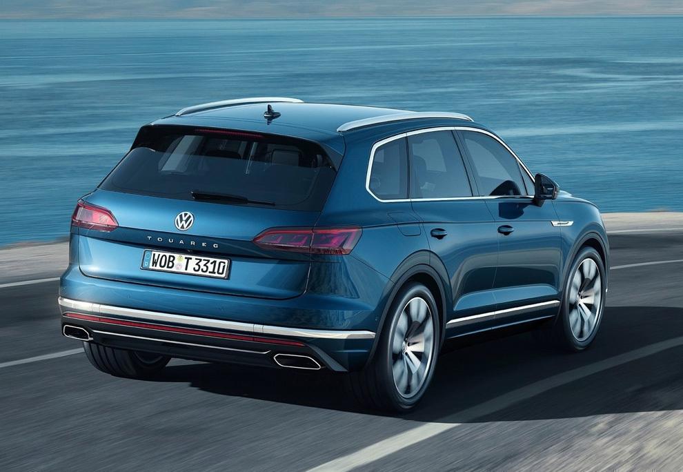 Volkswagen Touareg 2018 фото